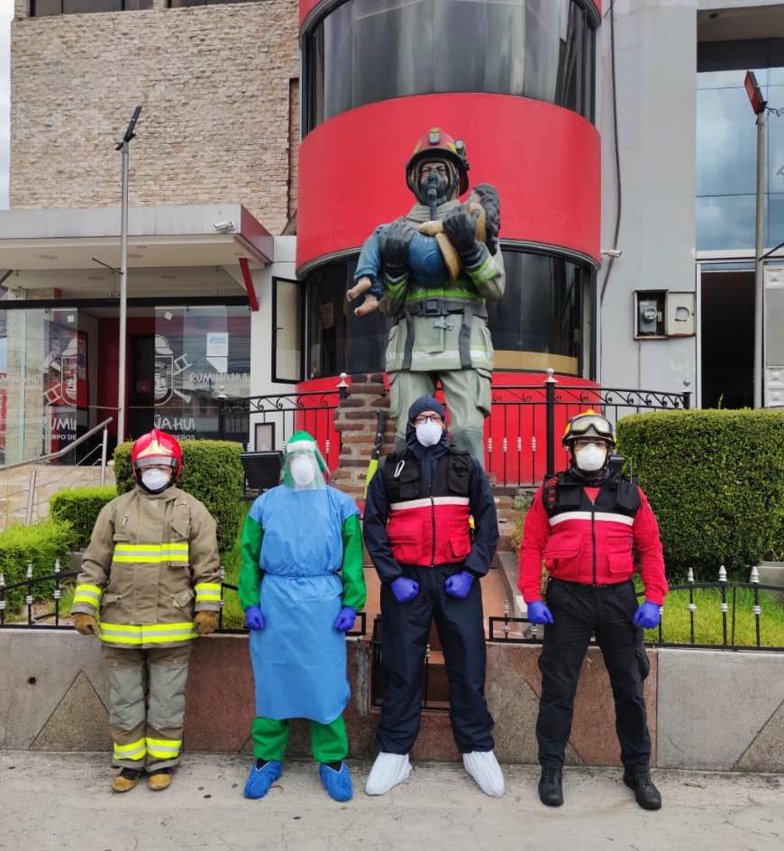 Fumigación de instalaciones de la EPM-CBR